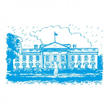 The White House, Washington DC, United States.