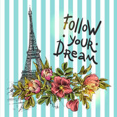 Poster follow your dream.