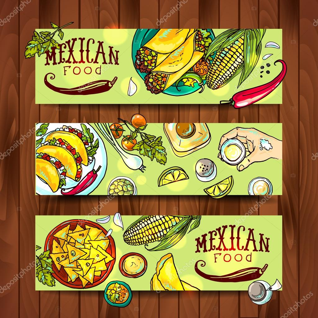banners mexican food