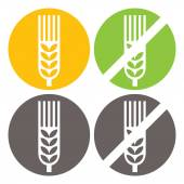 Photo Wheat and Gluten Free Signs