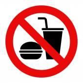 Žádné jídlo a žádné nápoje povoleno