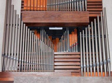 Organ Pipework Detail