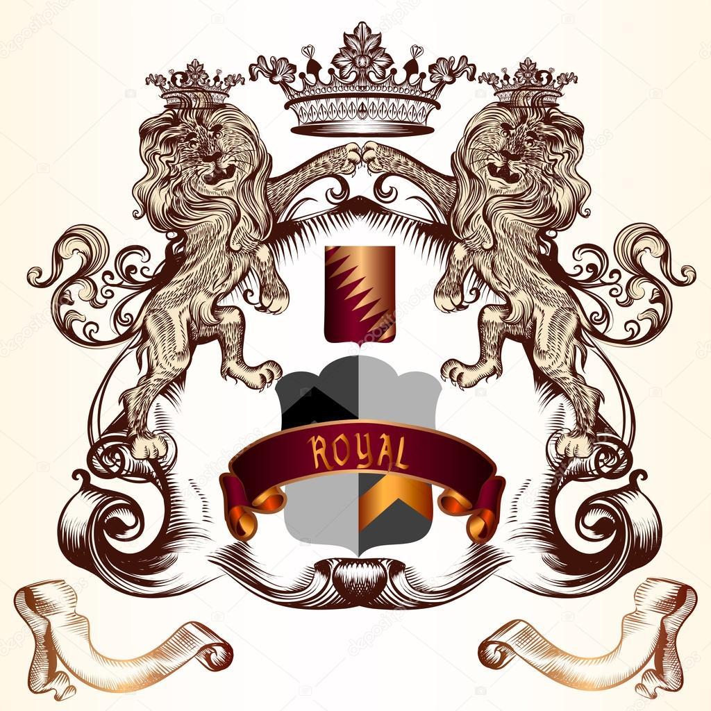 royal lion logo shield wwwpixsharkcom images