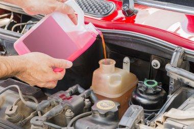 car coolant service