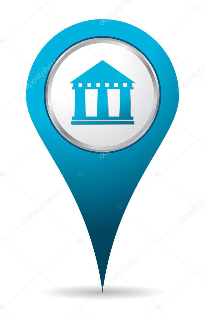 Icone Localisation icone de banque de localisation — photographie oculo © #78545628