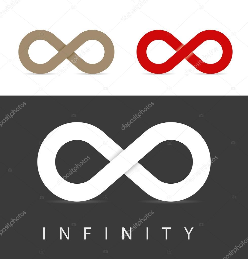 Infinity Symbols Set Stock Photo Oculo 95136716
