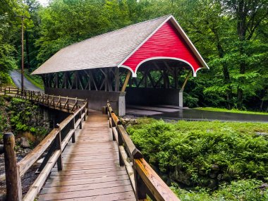 The Flume Covered Bridge