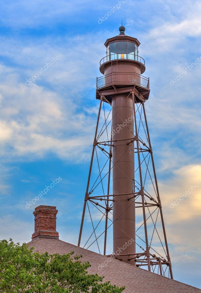 The Metal Sanibel Island Lighthouse, Or Ybel Light, Was Built On The Isleu0027s  East End To Mark The Entrance To San Carlos Bay And The Port Of Punta  Rassa, ...