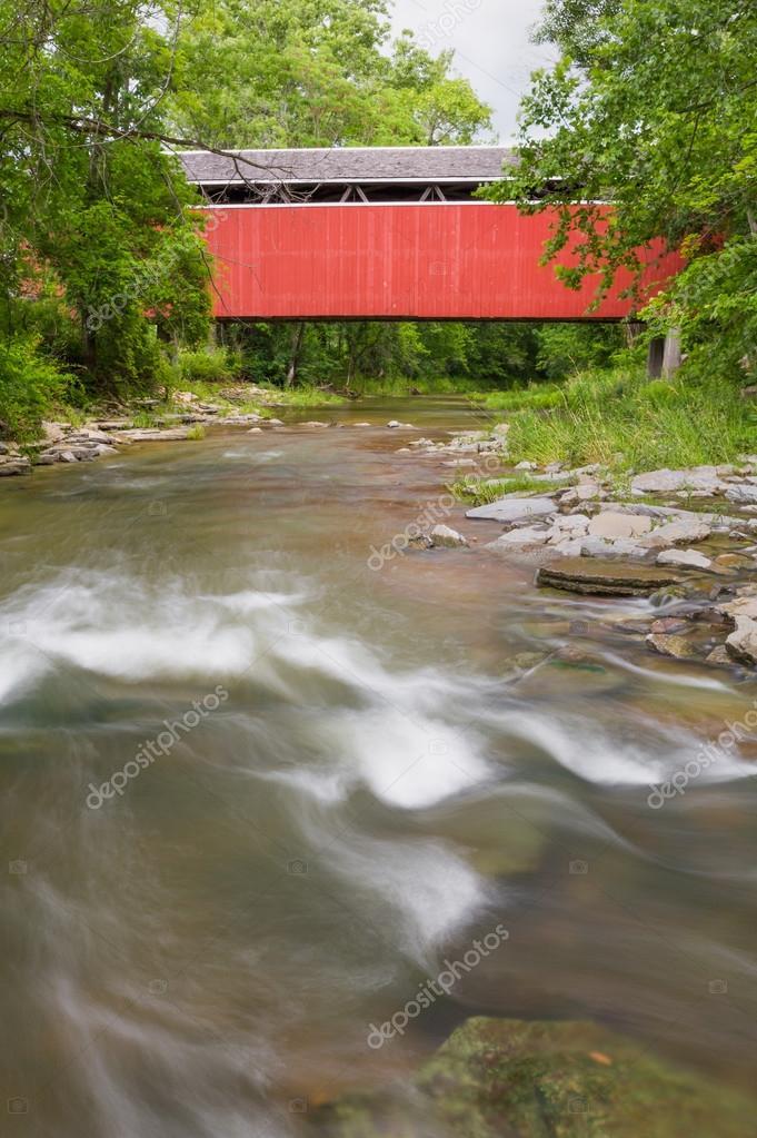 Stock-heughter Covered Bridge