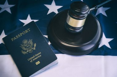 US Passport law legal concept image