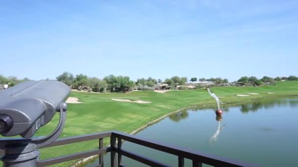 Schöner Golfplatz in Arizona