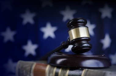 American legal law concept image