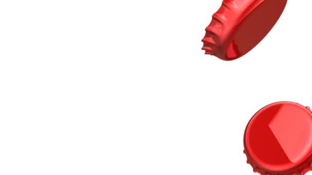 Červený Lahvové uzávěry