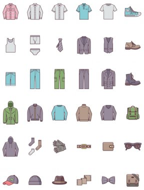 Men clothes set