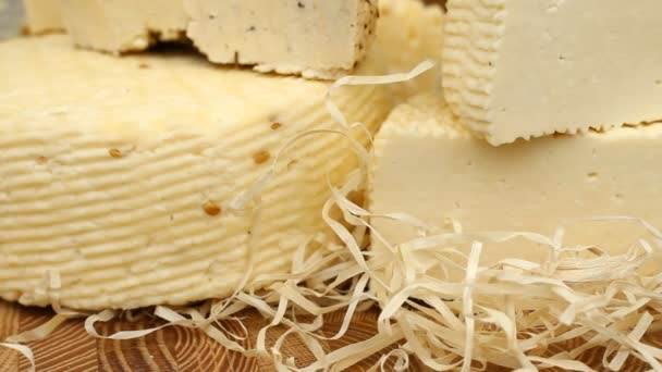 různé druhy sýra