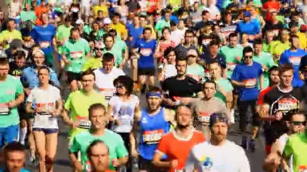 Kiev half marathon in Kyiv, Ukraine.