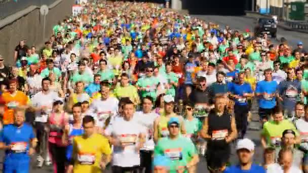 Kiev half marathon in Kyiv, Ukraine