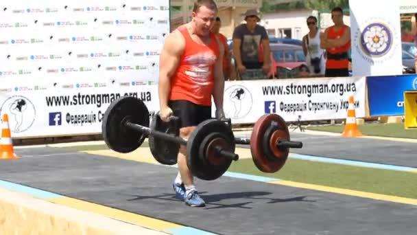 Championship of Ukraine strongmen,