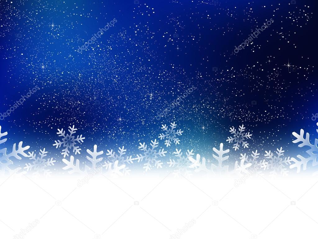 Weihnachten Schnee Hintergrund — Stockvektor © JBOY24 #52333637