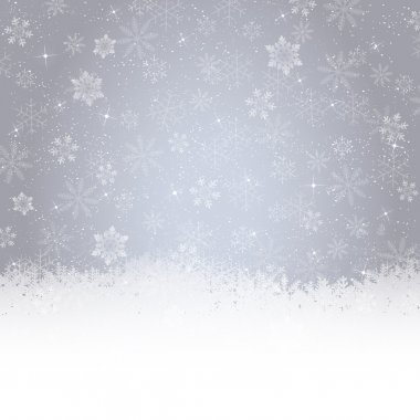 Christmas snow background stock vector