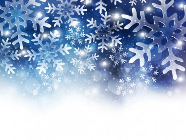 Snow Christmas background