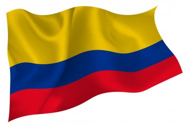 Columbia flag flag
