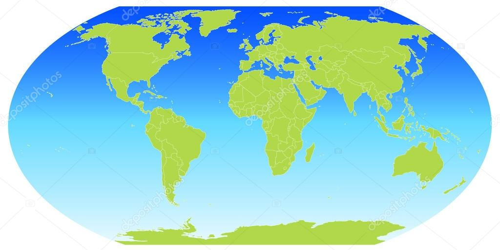 globus karte Globus Karte — Stockvektor © JBOY24 #75485209