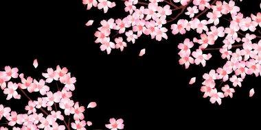 "Картина, постер, плакат, фотообои ""весенний фон вишневого цвета"", артикул 95556486"