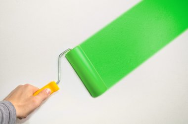 hand hold roll tool for painting