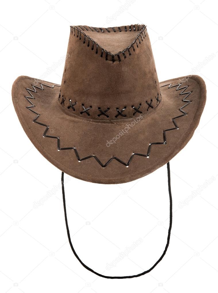 cappello da cowboy stetson camoscio marrone — Foto Stock ... 8861ac5993b