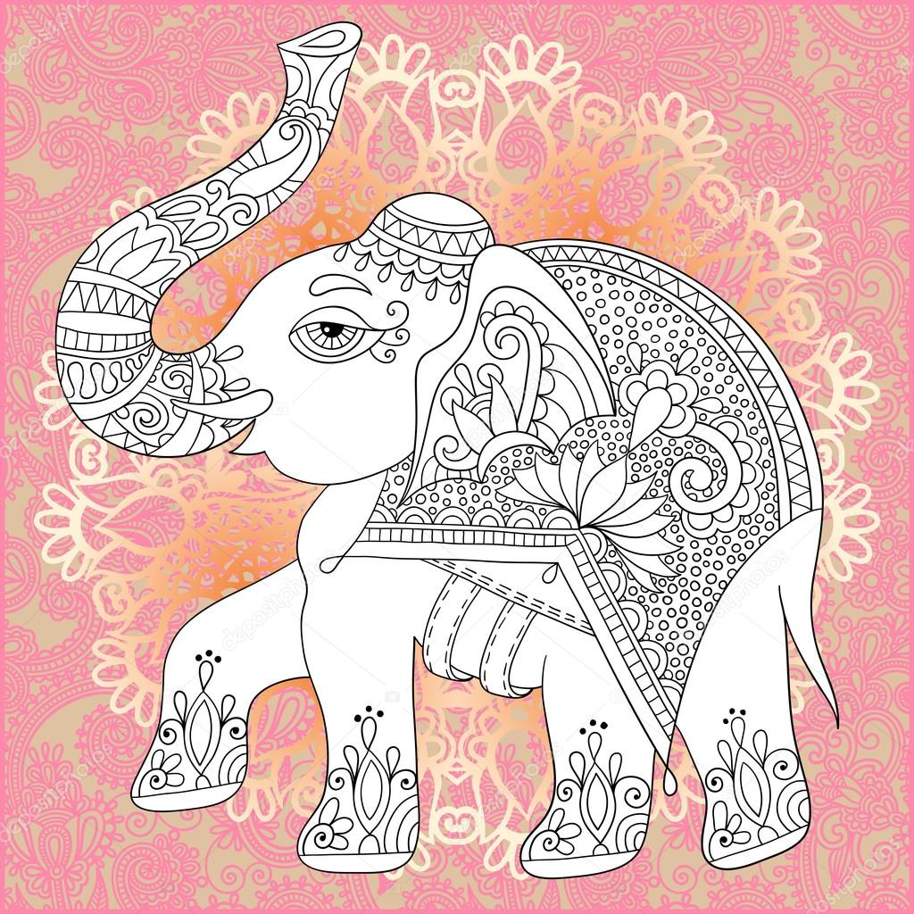 depositphotos stock illustration unique coloring book page for