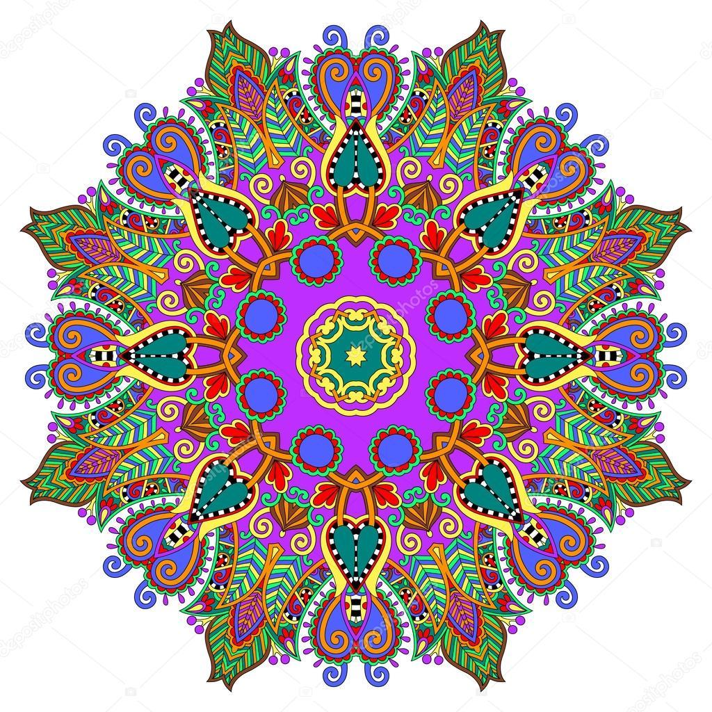 Circle decorative spiritual indian symbol of lotus flower stock circle decorative spiritual indian symbol of lotus flower stock vector mightylinksfo