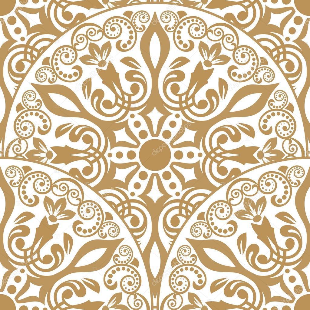 motif oriental sans soudure image vectorielle katia25 111313042. Black Bedroom Furniture Sets. Home Design Ideas
