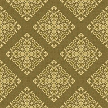 Seamless luxurious wallpaper