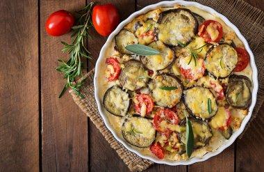 Moussaka (eggplant casserole)