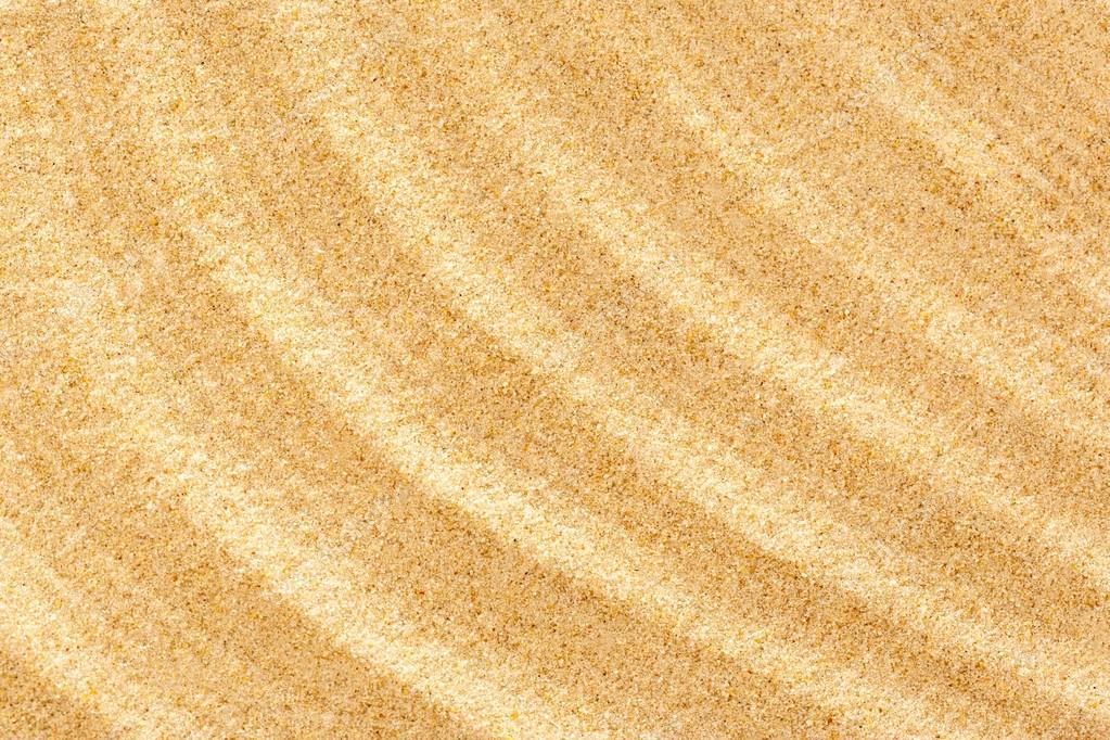 Wavy sample of beach sand