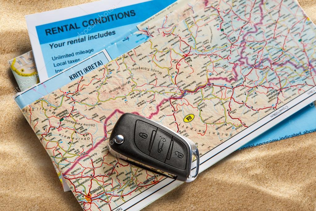 kulcs térkép Autó távoli kulcs térképén — Stock Fotó © Garsya #107454816 kulcs térkép