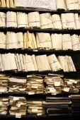 Skládané papírové dokumenty