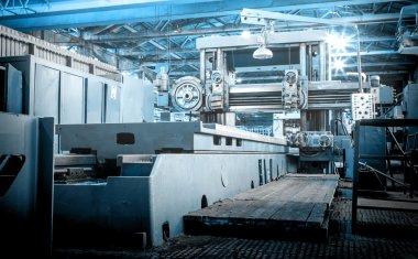 Machine shop of metallurgical works