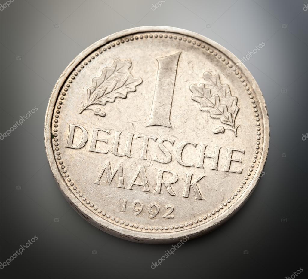 Alte Deutsche Münze Stockfoto Garsya 80375540