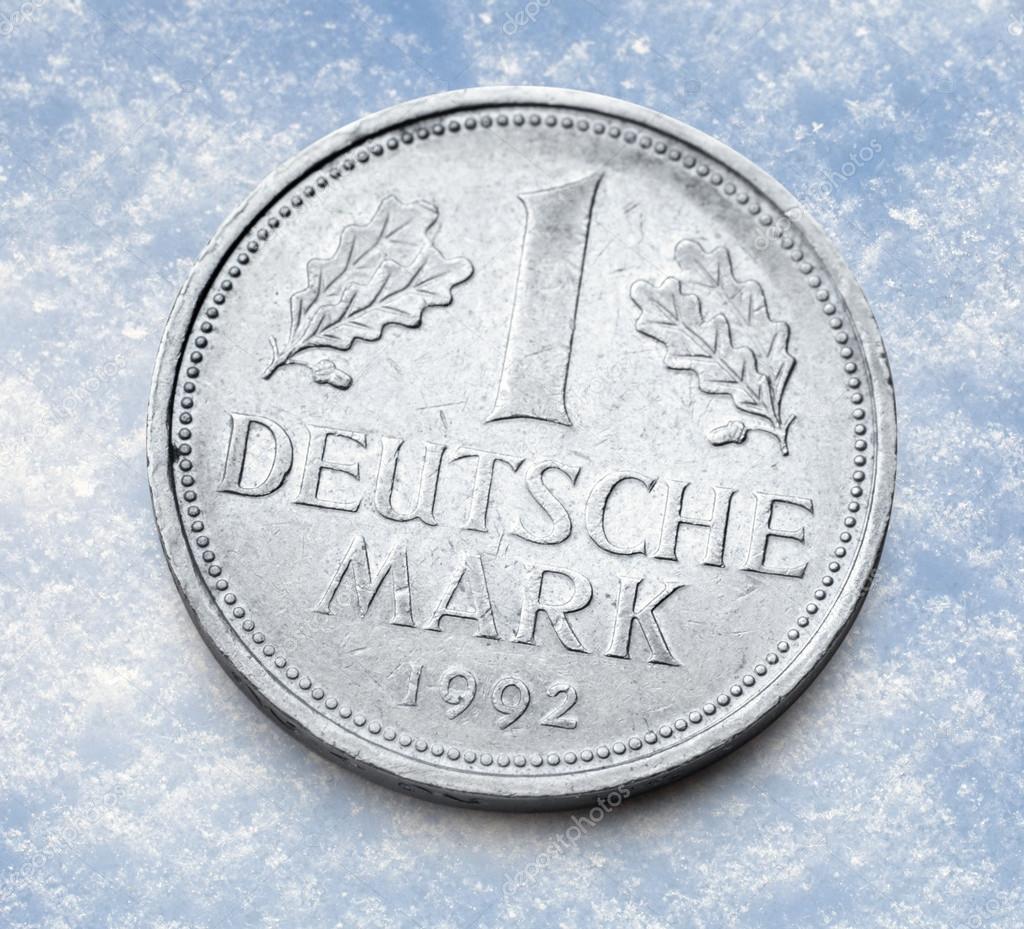 Alte Deutsche Münze Stockfoto Garsya 80375580