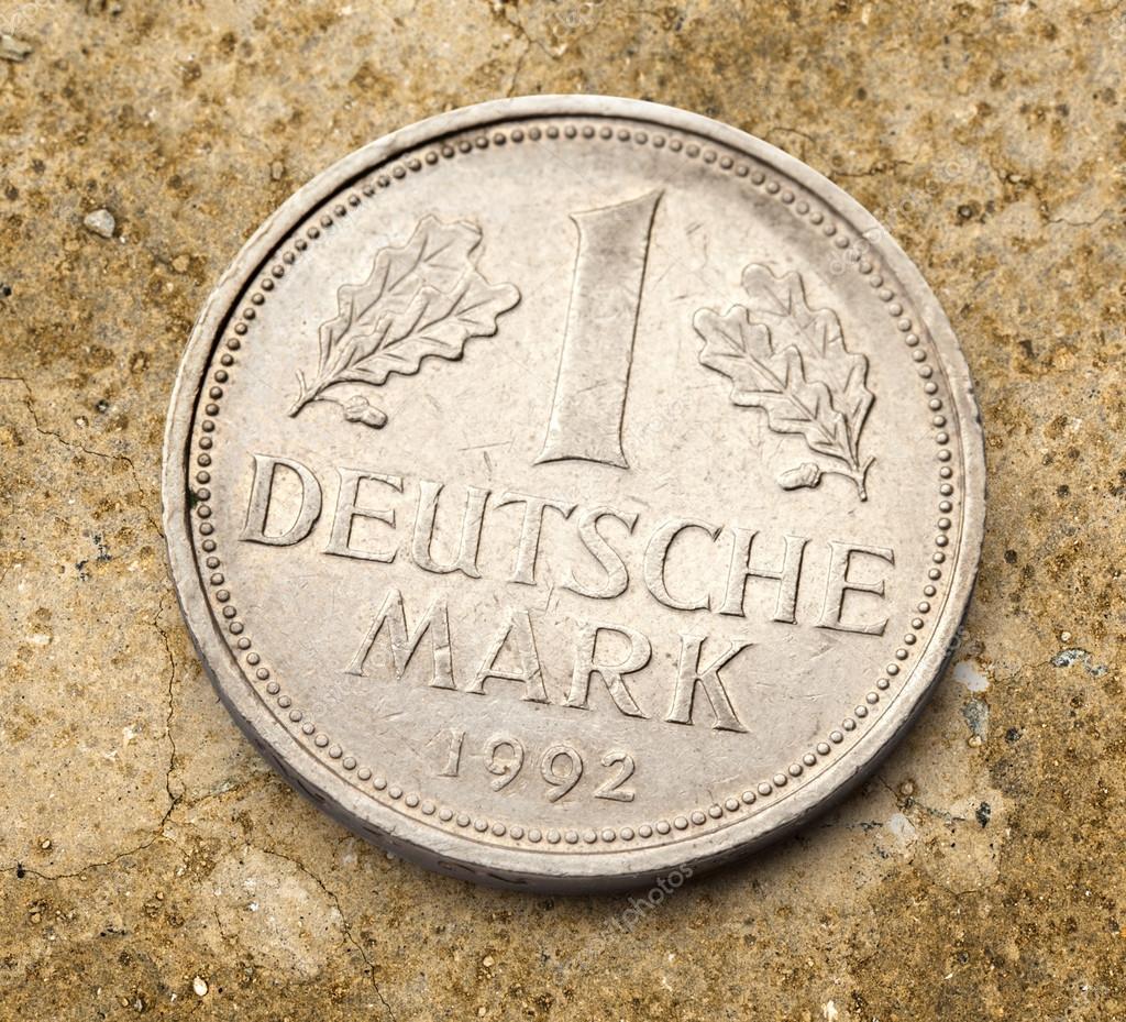Alte Deutsche Münze Stockfoto Garsya 80375638
