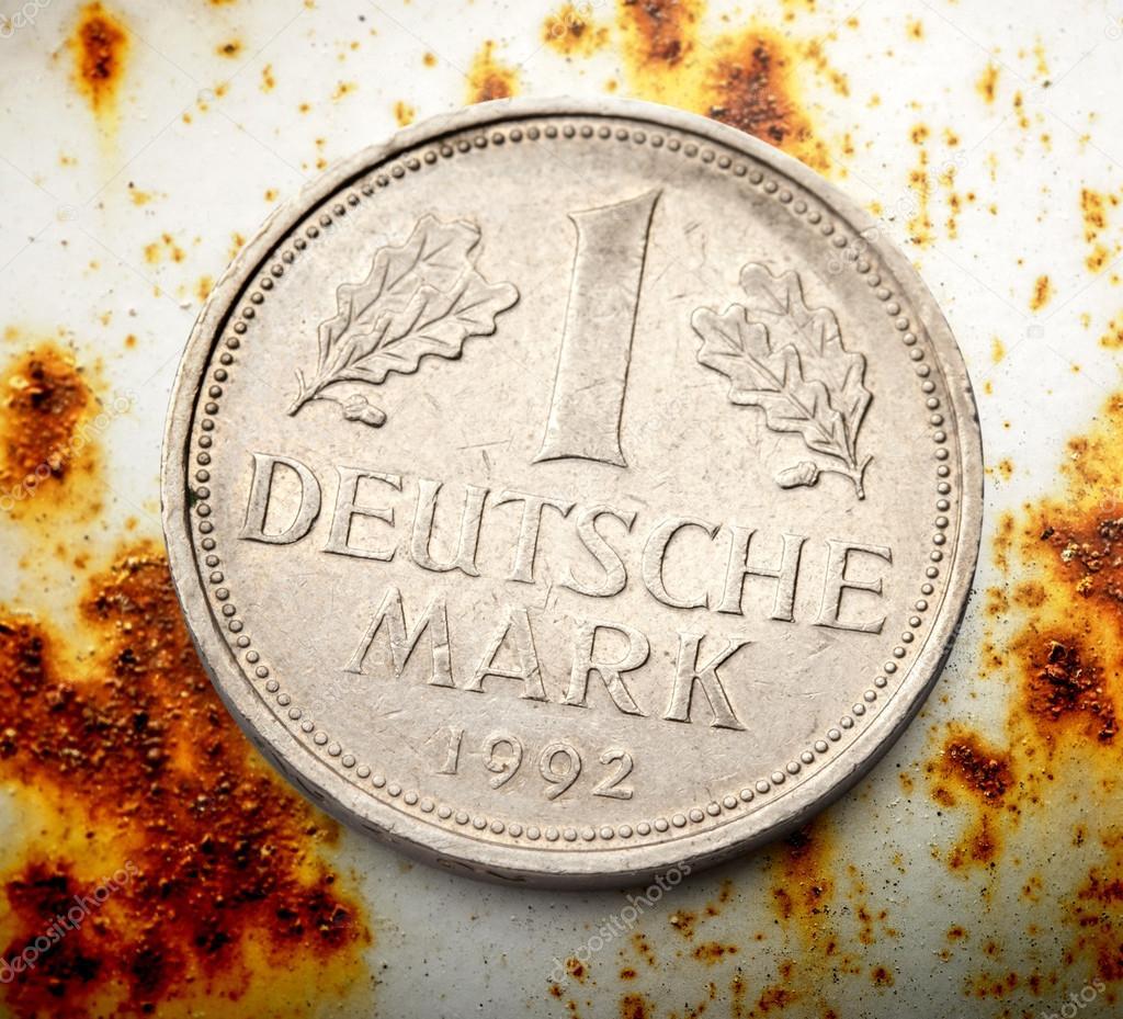 Alte Deutsche Münze Stockfoto Garsya 80375712