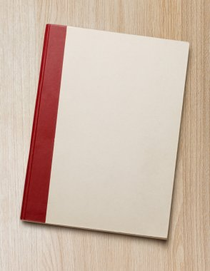Blank paper notebook