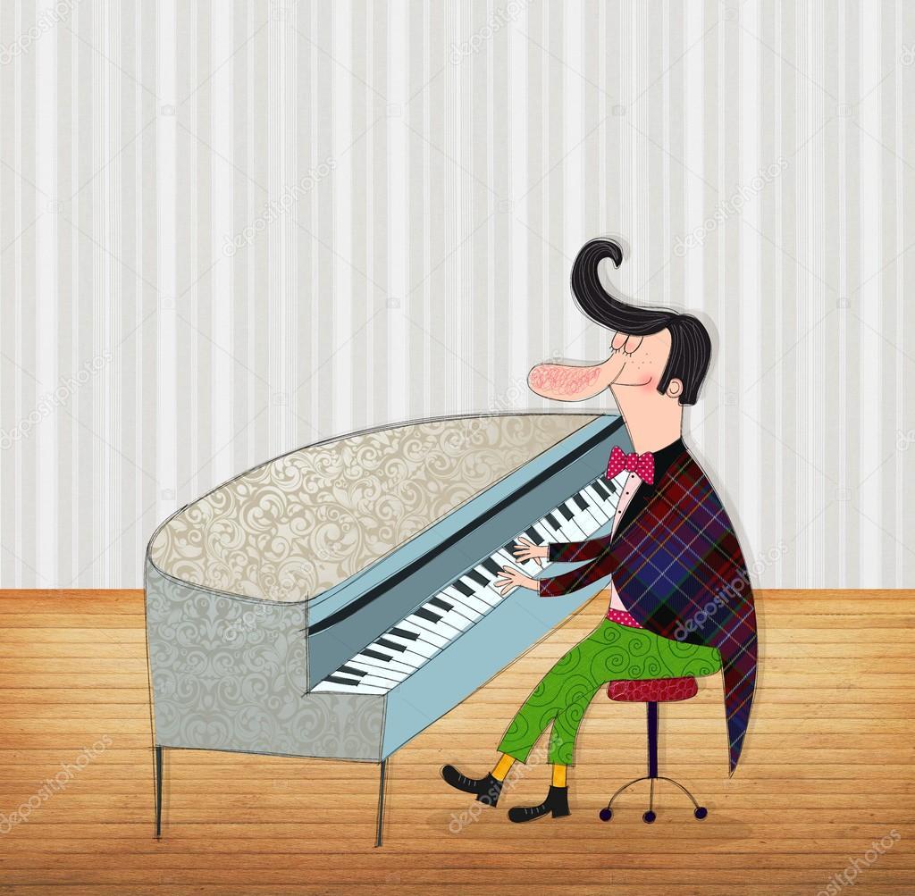 Смешные картинки пианиста