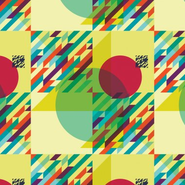 Geometric pattern abstract