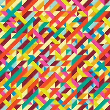 Geometric pattern abstract art