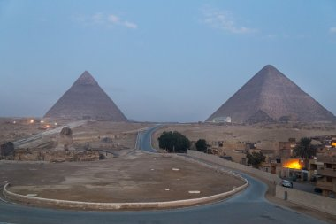 Road to the Great Giza Sphinx
