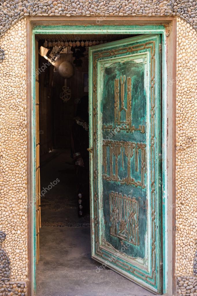Alte traditionelle ägyptische Türen — Stockfoto © paulprescott ...
