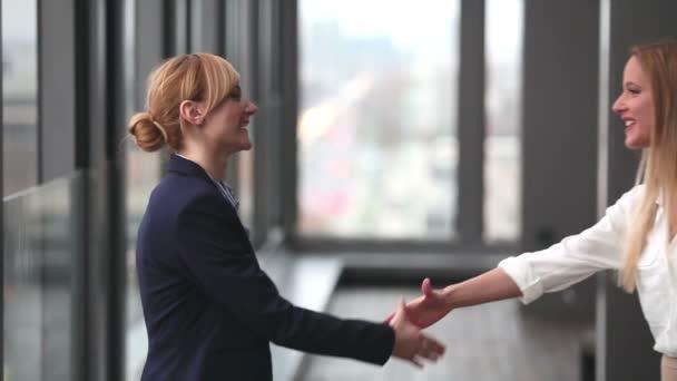 podnikatelky potřesení rukou